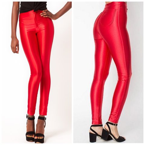 9fa385bd032a59 @dollrags. 2 years ago. Minnesota, USA. AMERICAN APPAREL RED DISCO PANTS ...