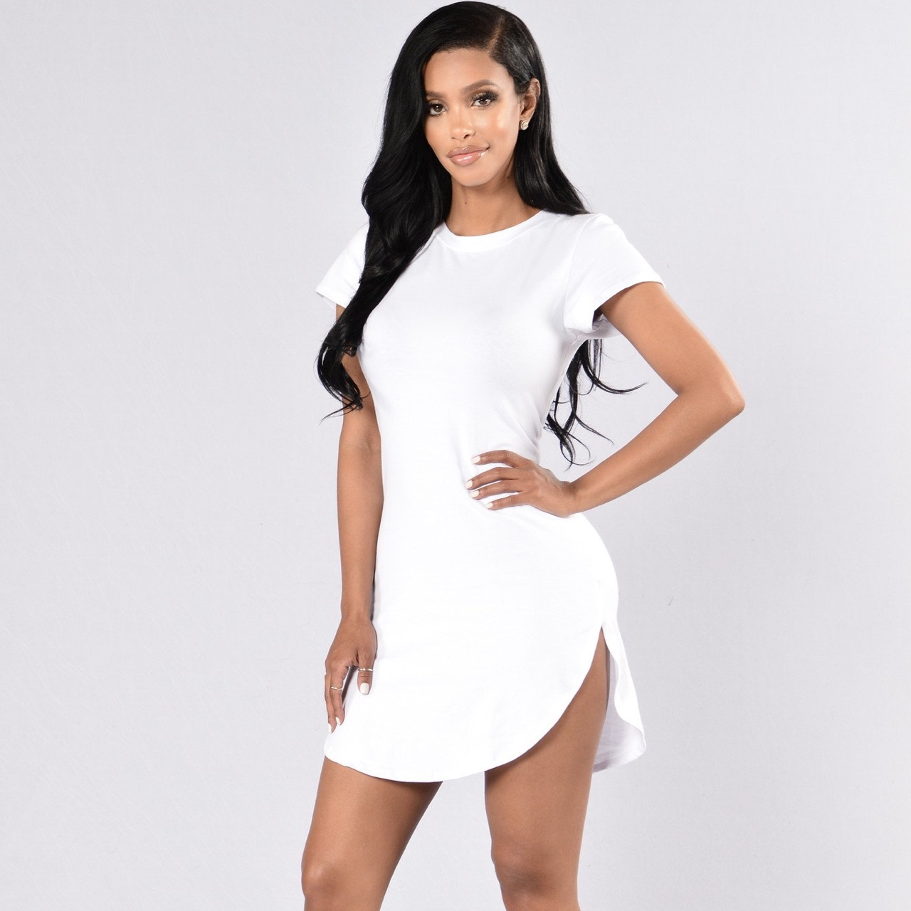 Fashion Nova White T Shirt Dress In Size M 8 12 Depop Sell collections for women, men, curves, and kids to millions of consumers around the world. fashion nova white t shirt dress in size m 8 12