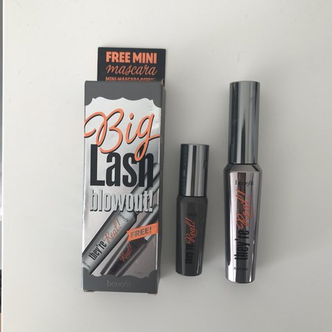 2dfd350323d Benefit 'big lash blowout!' duo, has never been used, so of - Depop
