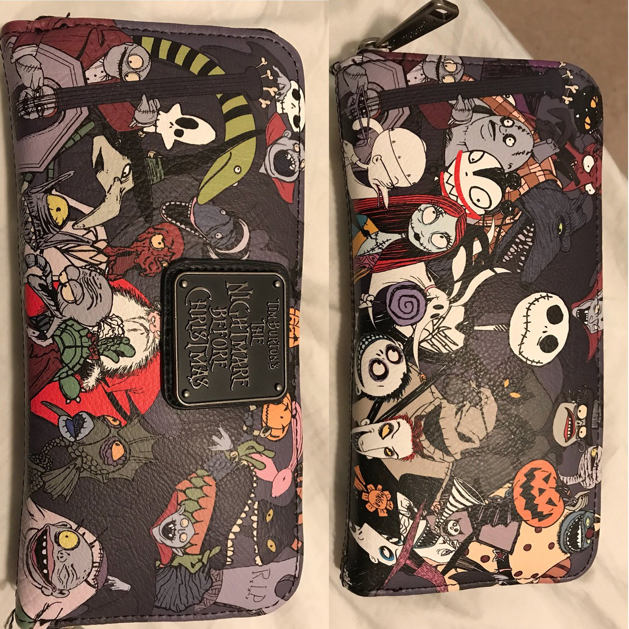 7312cbd65c1 ... new the nightmare before christmas wallet loungefly is the depop ...