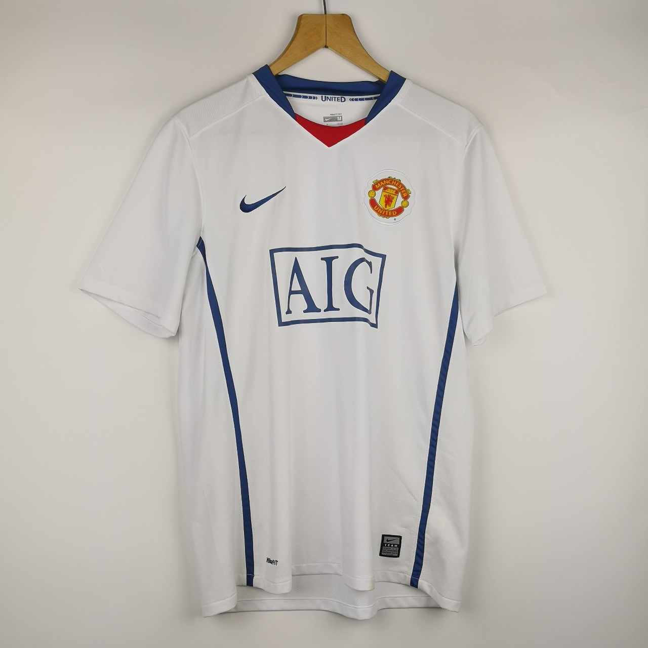 half off 5b88b ff08e NIKE X MANCHESTER UNITED FC 2008/09 AWAY SHIRT IN ...