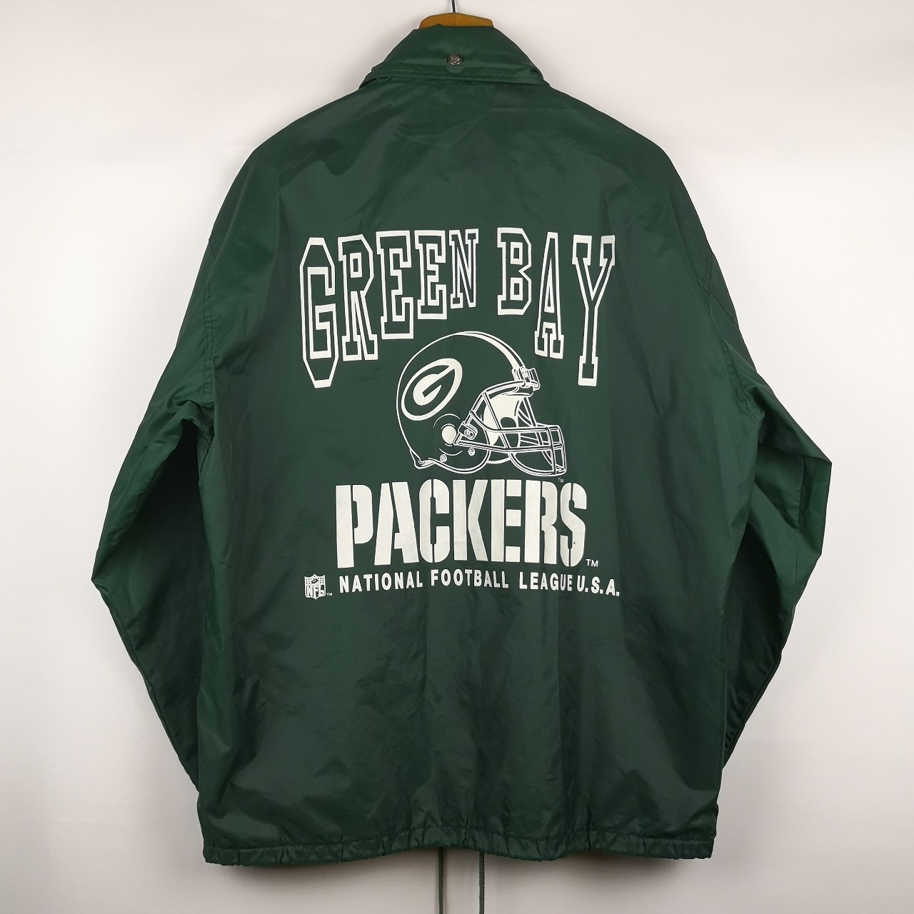 best sneakers 5d699 bdeb6 VINTAGE OVERSIZED GREEN BAY PACKERS NFL COACH ...