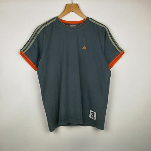 9ae12be8 @pacifye. 15 days ago. Bedford, United Kingdom. VINTAGE DARK GREY ADIDAS  CREWNECK T-SHIRT IN MENS ...