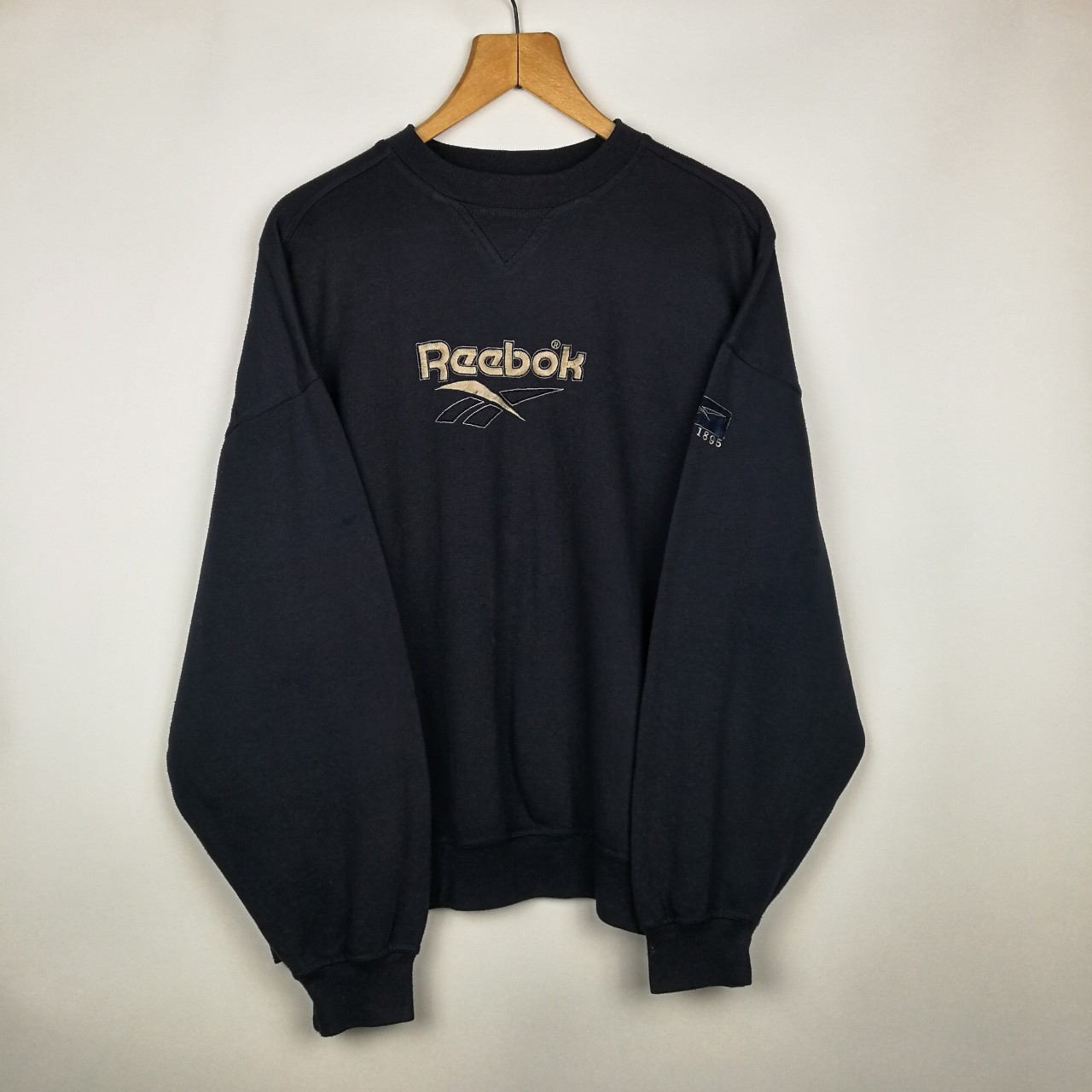 noir blue jumper since reebok and 1895 WHD2IE9