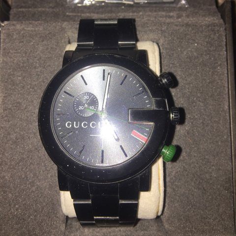 be2f851fa95 A used men s Gucci watch. Still in perfect working order and - Depop