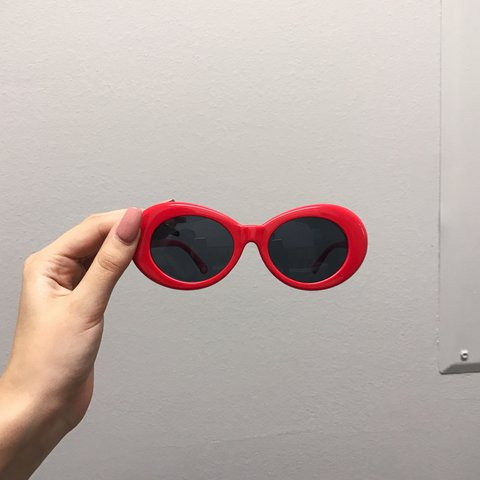 cce7757bdcad1 red clout goggles   kurt cobain glasses ⚙   tags  american - Depop