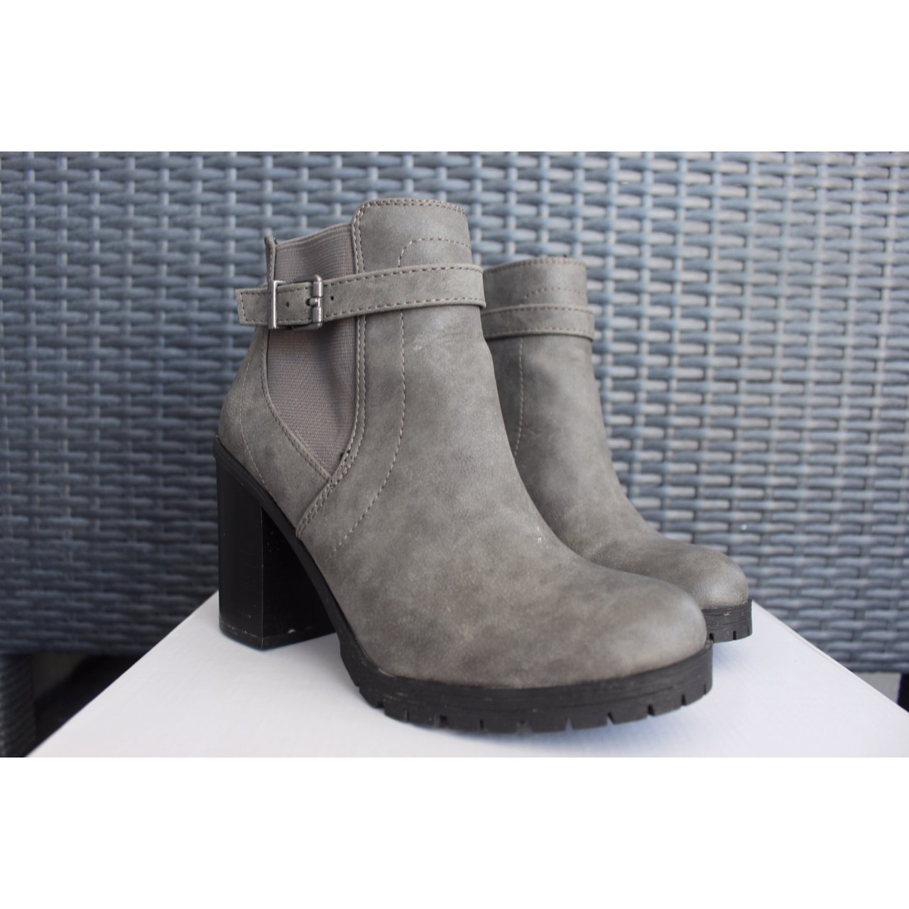 320e95f39 Grey Circus Sam Edelman Booties worn twice