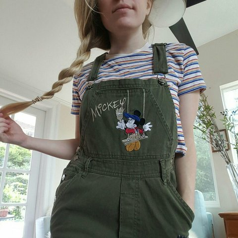 695ed65d1b12d VINTAGE 90s MICKEY 1 1 OVERALLS  FREE 2-day shipping  we ann - Depop
