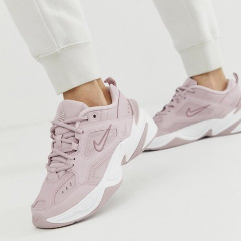 low cost a904b 6a7f4 Nike m2k tekno trainers in pink  zara  asos  topshop - Depop nike m2k