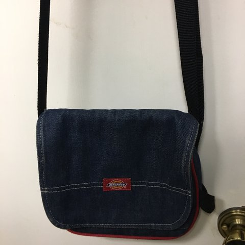 Cute denim dickies purse! Minor damages.  Dickies  Denim - Depop 43e3ecabec750