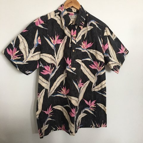 6a58ab32 @catherinecollette. 7 days ago. Hilo, United States. Men's Vintage Hawaiian  Shirt Cooke Street Honolulu for Liberty House Size Large