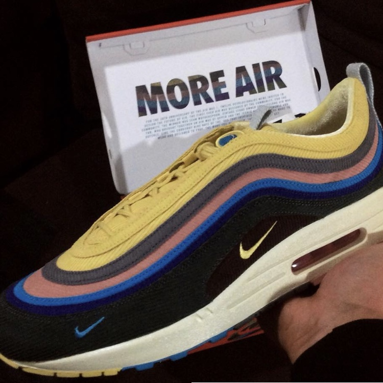 the best attitude 09362 413e3 WTS UK7.5 Sean Wotherspoon Nike Air max 97 Price is... - Depop