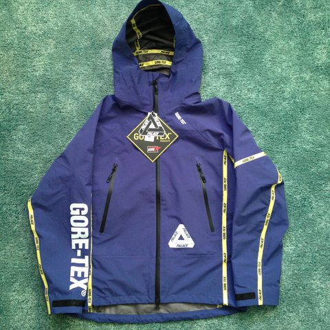 8eebc6fb9e41 Palace GORE-TEX® Palex Waterproof Jacket in Blue from the