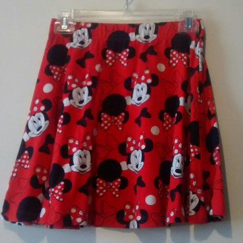 0ef99338c9 @kvonne1997. 3 years ago. Texas, USA. Red Minnie Mouse Skater Skirt
