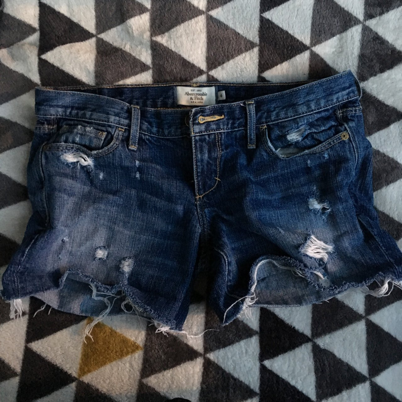 d472e3aea9ff9 Abercrombie   Fitch Denim Shorts🕊 Such