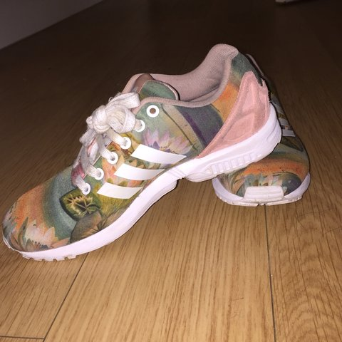 4eed85ed8d8f4 Adidas zx flux sunset pattern
