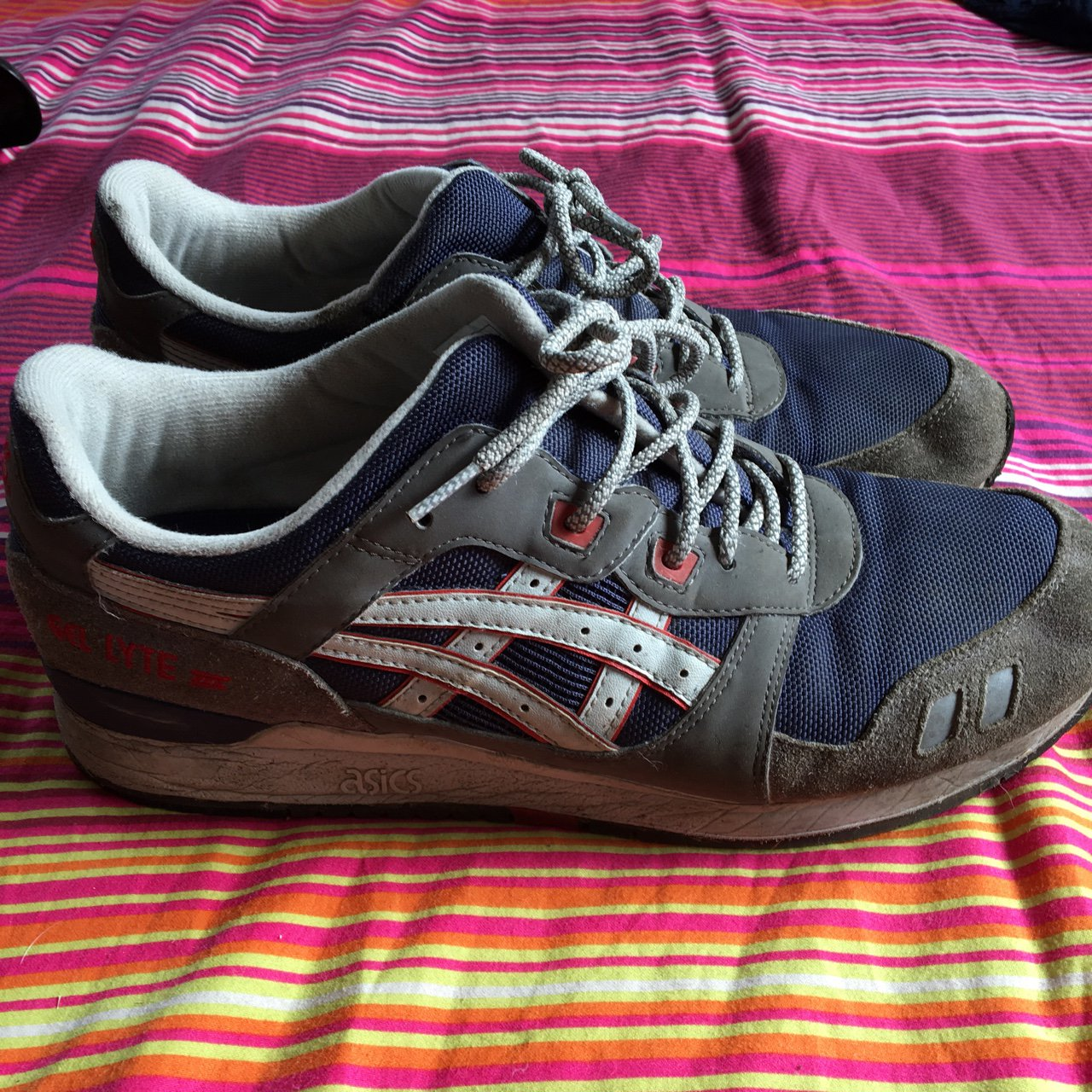 e6fe6e48810 Gel Very 11 Them Asics Uk Lyte Off Take Worn Well Iii Depop dOwwqUXxp