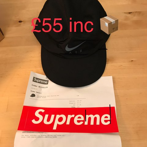 58869a0136882 Supreme x Nike Trail Running Hat