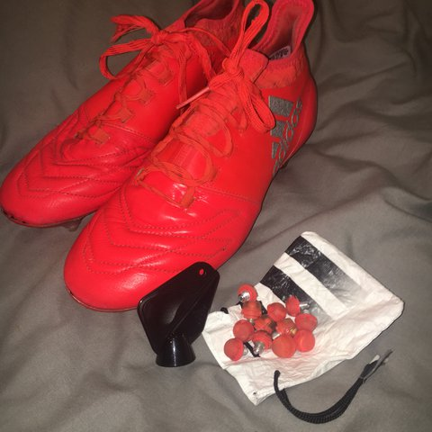 cadd32683583f Adidas X 16.3 football boots. 8 10 condition since there is - Depop