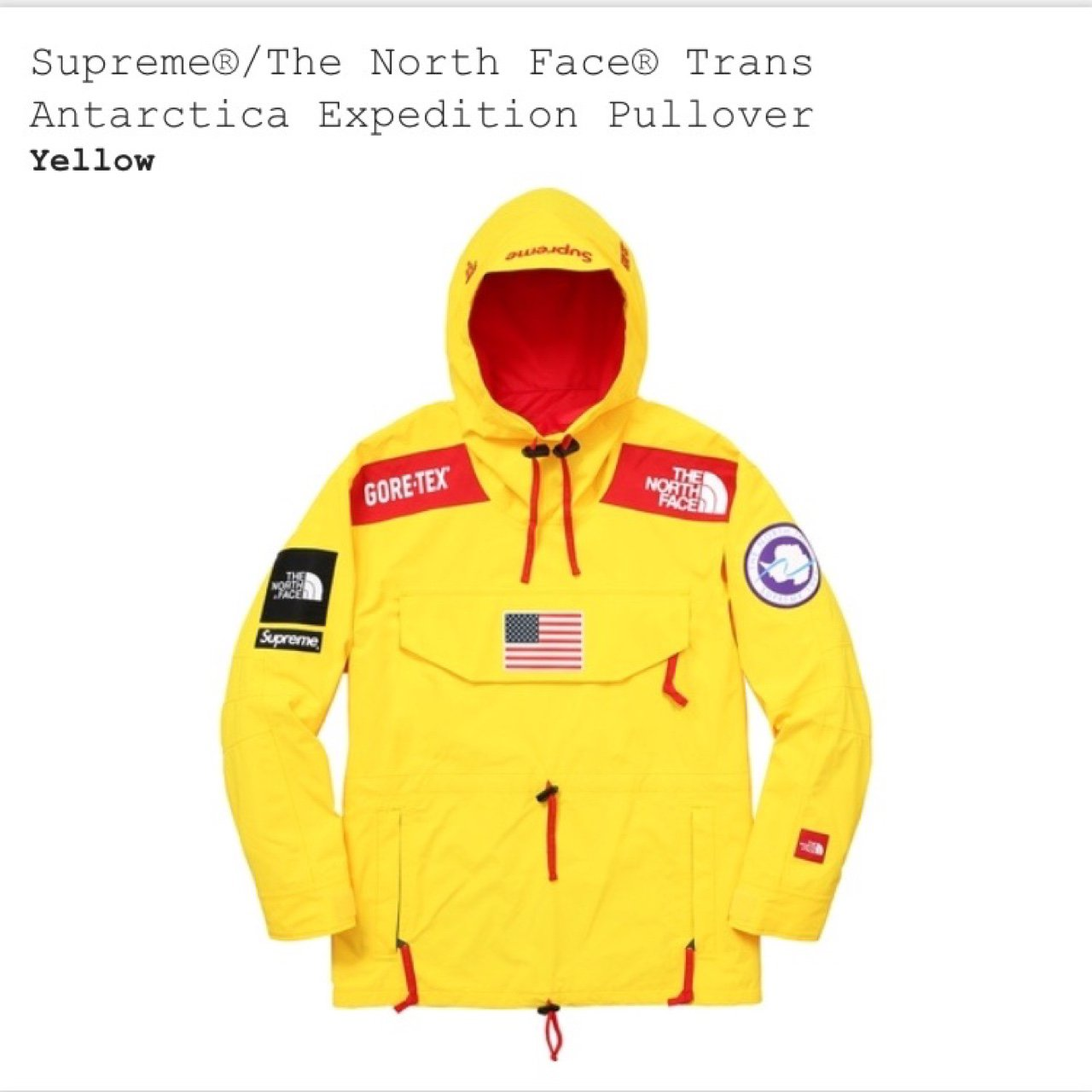 Olliejweaver 2 Years Ago Bath Uk Brand New Supreme X The North Face Gore Tex