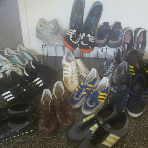 817f06196a97 Job Lot mens Adidas and Nike trainers 17pairs - Depop