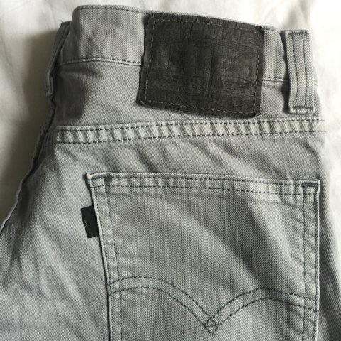 717642b0 Levi Strauss Mens baby blue slim fit jeans. Size: W30. There - Depop