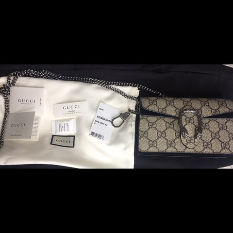 7adc6717469 @laurapatriciarg. last year. Boston, MA, USA. Dionysus GG Supreme Super  Mini Bag
