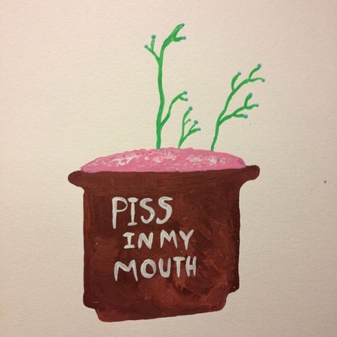 Wife piss in my mouth