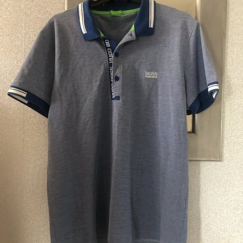 b6d28c81d @chel. 2 days ago. Purfleet, United Kingdom. Hugo Boss polo shirt. Size L - slim  fit long staple cotton. Very good condition