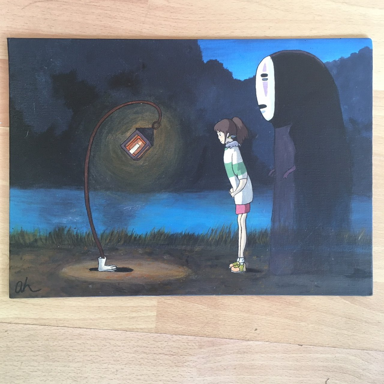 Spirited Away Art Studio Ghibli Hayao Depop