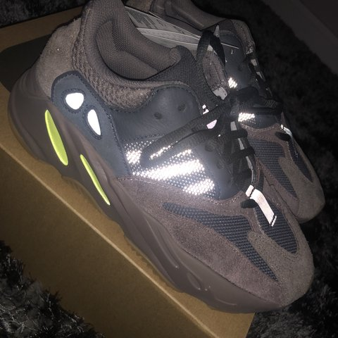 d5ae49c3cefc9 Adidas Yeezy Boost 700. Mauve. UK 5.5. Wave Runner new with - Depop