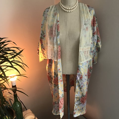 3938dbcdc440c Dying for this Vintage Victoria s Secret cardigan. It is a I - Depop