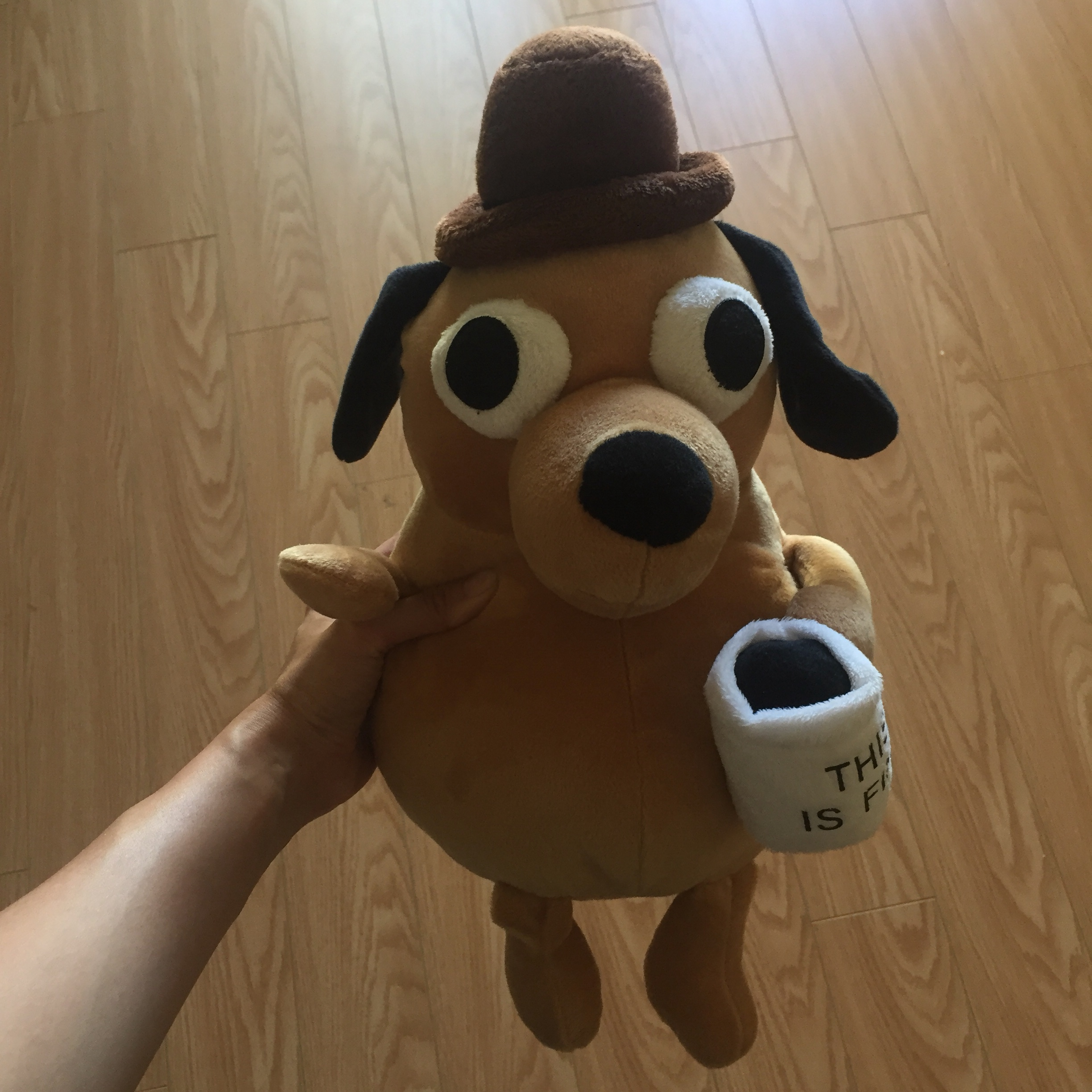 This Is Fine Dog Stuffed Animal, This Is Fine Dog Plush By Kc Green Great Depop