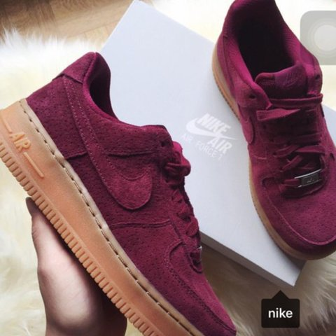 new concept 1be69 b603f  miaaa rose. 3 years ago. New Jersey, USA. Nike Air Force 1 in Suede ...