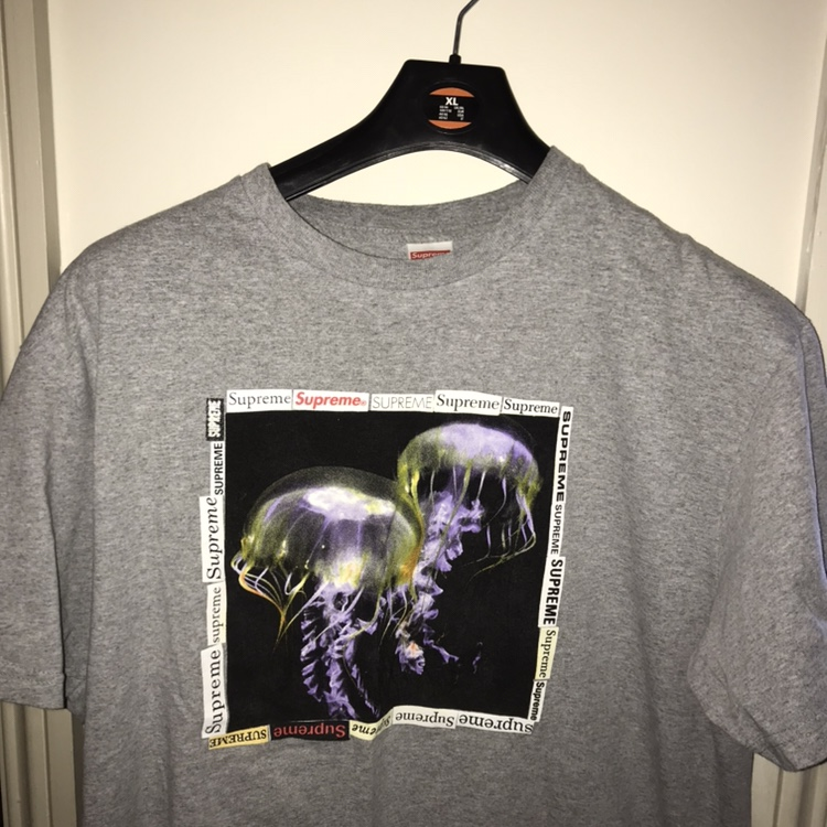Supreme Jelly fish t shirt. In perfect condition, Depop