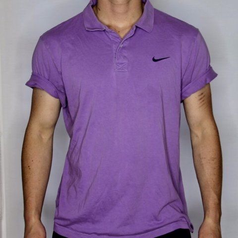 d6af45d9 @daydreamerss. in 14 hours. Leeds, United Kingdom. The coolest vintage  lilac purple nike polo shirt !!