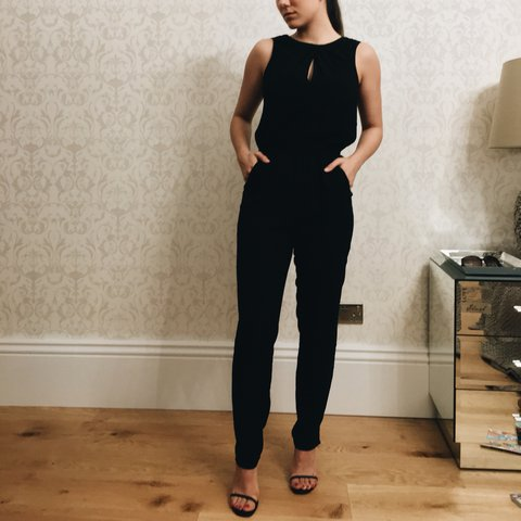 0955bdfd9e PRICE INCLUDES SHIPPING. Coast black jumpsuit size 6