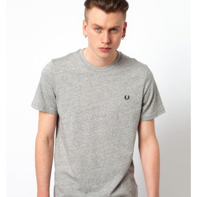 270adf28f @rubbersoulvintage. 5 years ago. United Kingdom. Fred Perry Grey T-Shirt.
