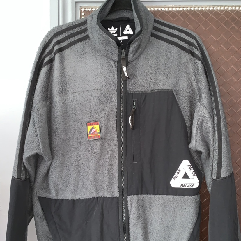 palace x adidas fleece