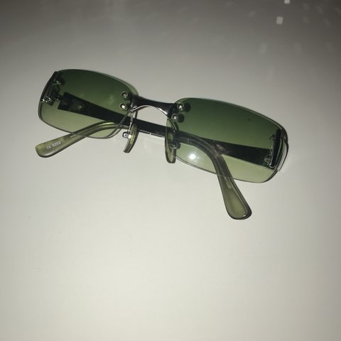 d8efd167008  zara beaumont. 4 months ago. United Kingdom. Green rimless y2k sunglasses. Super  cool ...