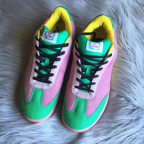34053b71871f4d RARE Pharrell x Reebok x BBC ice creams 🍦really great used - Depop