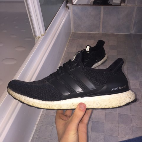 ca8b585b95da2 Adidas Ultra Boost 2.0 Black and white colour way. Have seen - Depop
