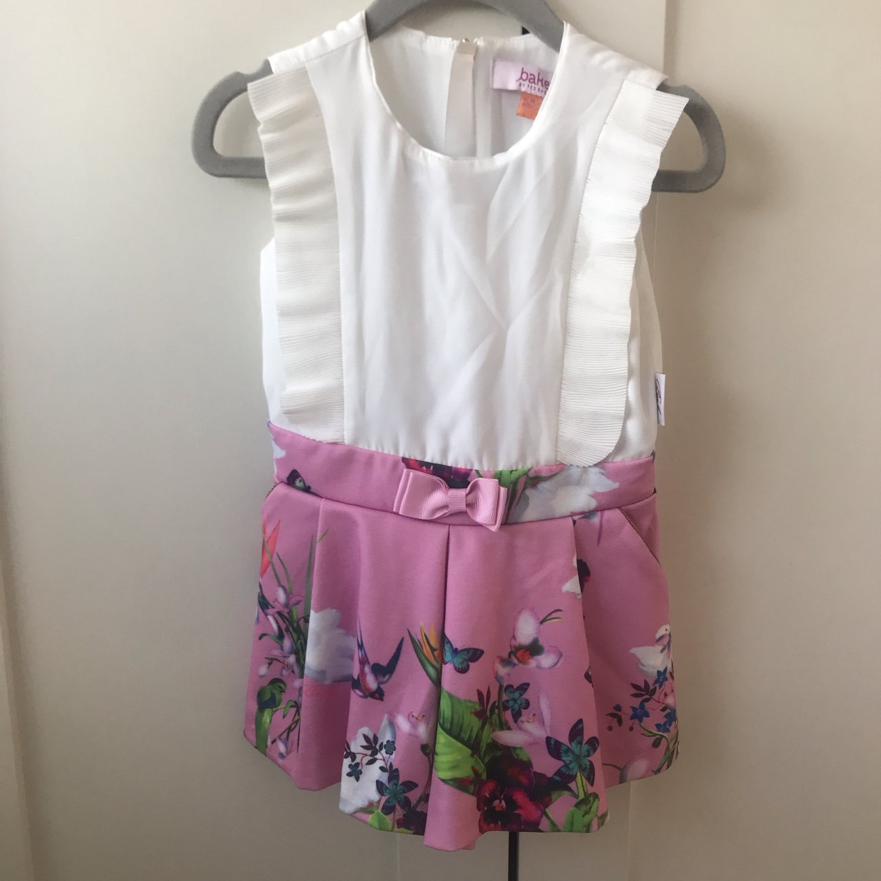 6ae31f84d271 Girls river island top size. £6. Baker baby playsuit size 12-18m