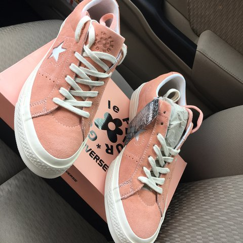 Converse X One Star Golf Le Fleur By Tyler The Creator Size Depop
