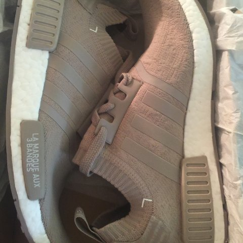 9b7d88033 adidas nmds beige  pre owned adidas nmds french beige 7 men. only wore make  depop