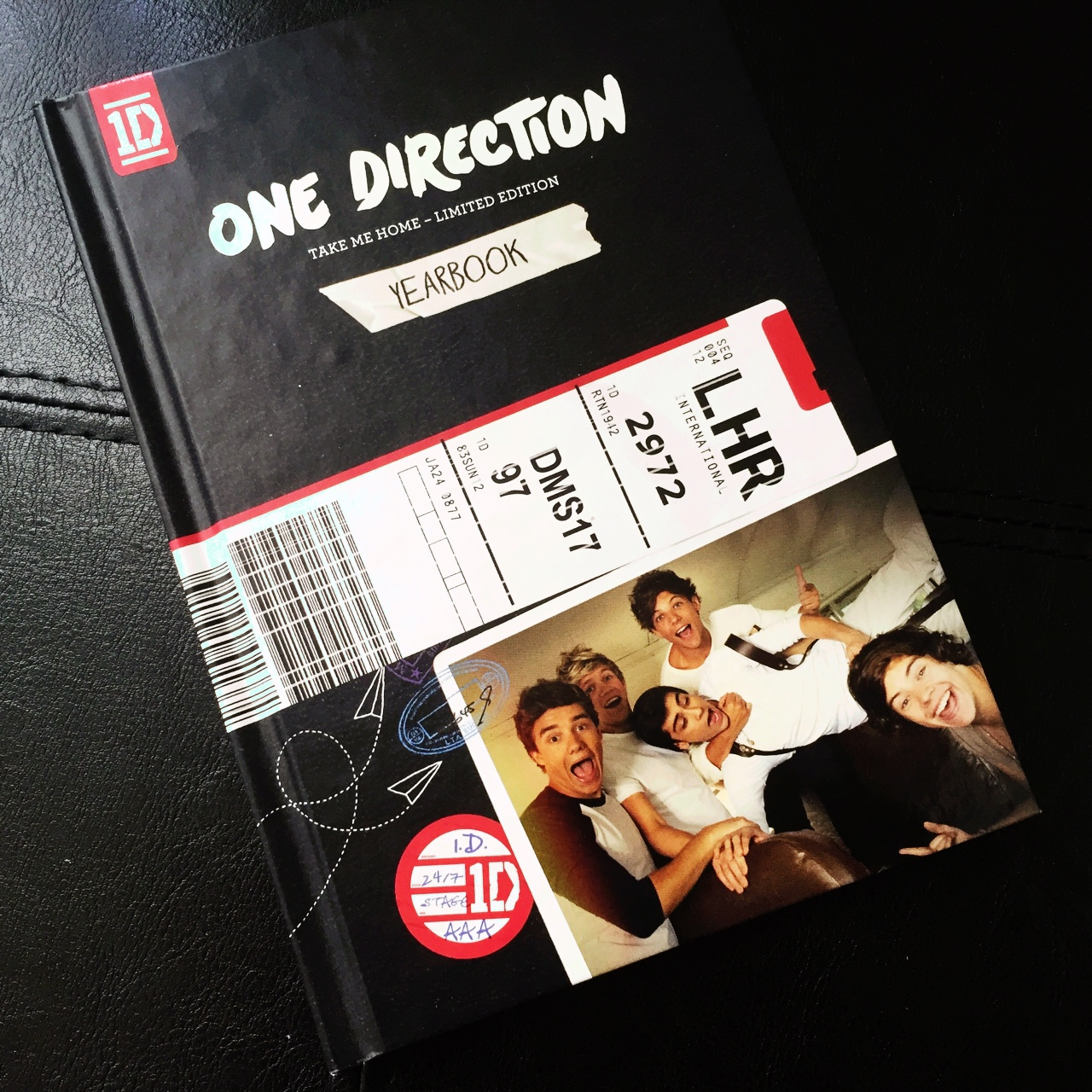 One Direction Take Me Home Limited Edition Yearbook