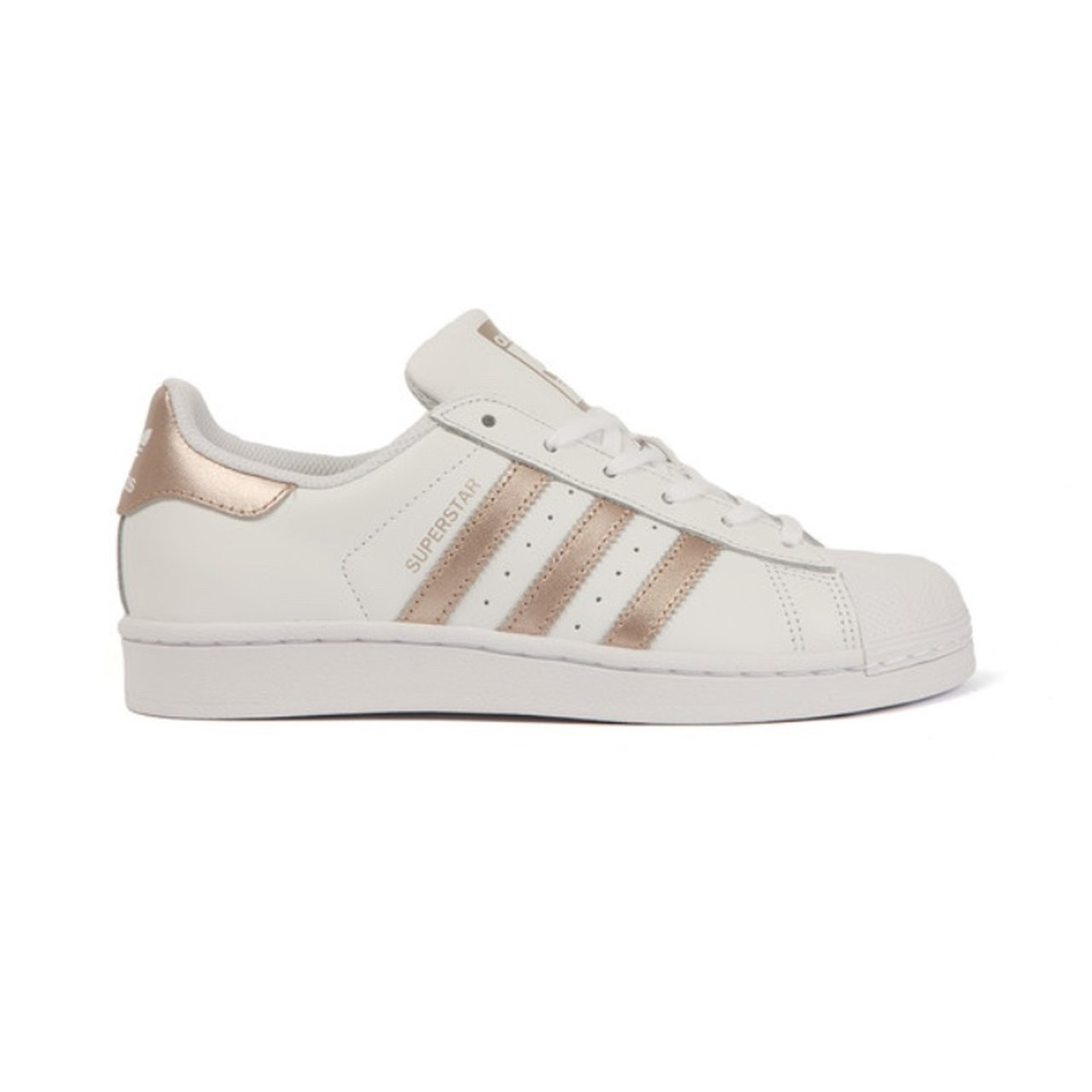 adidas originals superstars rose gold