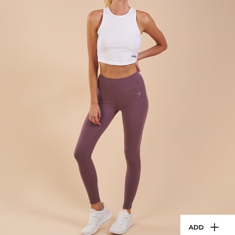 708aa2e3ef0db @aims18x. last year. Sheffield, United Kingdom. Gymshark Aspire Leggings  Purple Wash