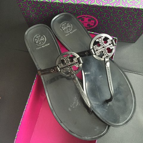 87fd161f1 Authentic Tory Burch Jelly Sandals. Size US 9