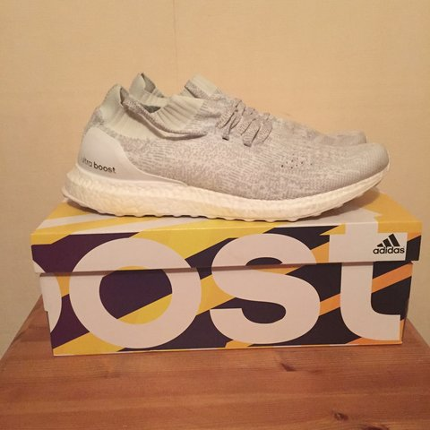 b77a5966f Adidas Ultra Boost White LTD Size 10 UK with box. Extremely - Depop
